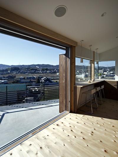 生駒の家-float terrace-