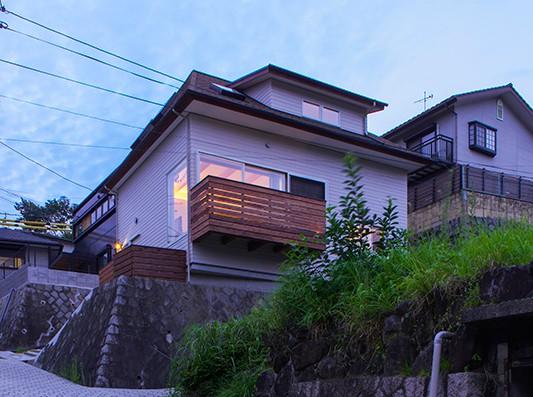 生駒の家3-bump house-