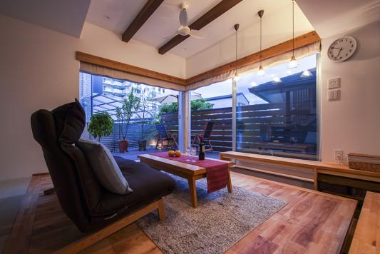 夕雲町の家-little forest-