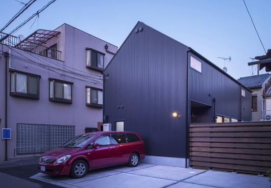 千本北の家-Square&Triangle-