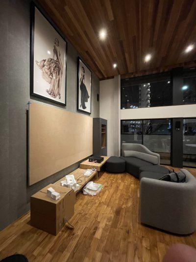 福島区の家-atrium house-